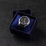 boldion (TM) 2Armband Jewelry Display Watch Halter mit Schaumstoff Pad Innen Geschenk Box Case für Armreif Armbanduhr Boxen und Verpackung blau
