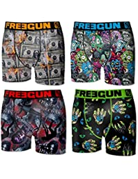 Freegun - lot de 4 boxers homme
