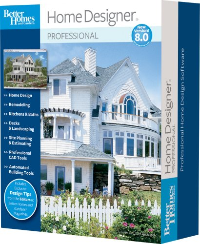 Better Homes and Gardens Home Designer Pro 8.0 - Better And Gardens-software Homes