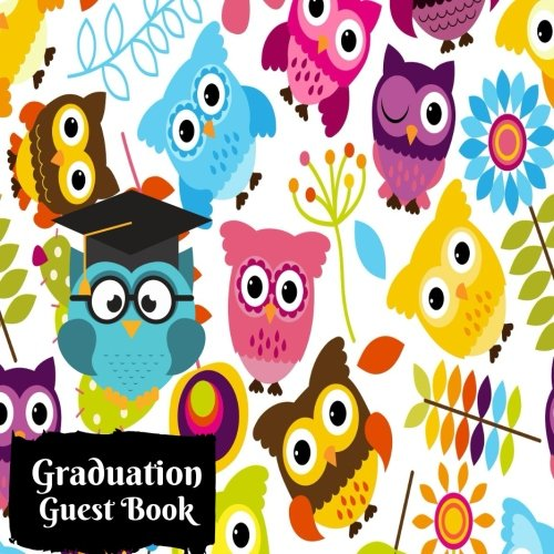 Graduation Guest Book: Square Graduation Congratulatory Message Book, Memory Year Book, Keepsake, Scrapbook, Gift For Pre School, Nursery, elementary Paperback: Volume 22 (Graduation Gifts) por Divine Stationaries