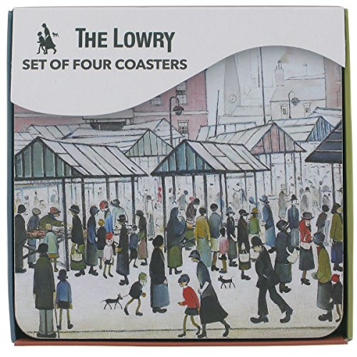 officially-licensed-ls-lowry-art-coasters-market-scene-northern-town-set-of-4-105-x-105cm