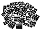 Clapboard & Filmstrip Print-Fetti Party Accessory (1 count) by Beistle