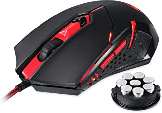 Redragon M601 CENTROPHORUS-2000/3200DPI Gaming Mouse for PC, 6 Buttons, Weight Tuning Set