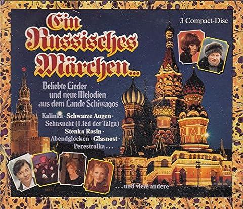 Ein Russisches Märchen - Beliebte Lieder und neue Melodien aus dem Lande Schiwagos (3 CD Box Set) (Katja Ebstein Lieder)
