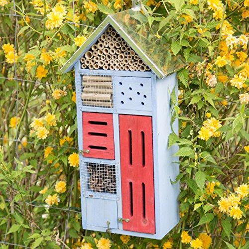 Ein Insektenhaus für den Garten