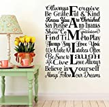 #7: Wall Decal 'Family' Wall Sticker by Paper Plane Design (PPD) Design :swall_decal_home_007