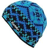 Eisbär Kids / Kinder Mütze Tibsi blau gemustert