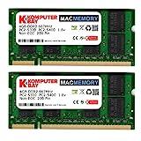 Komputerbay MACMEMORY Apple 8GB (2x 4GB) PC2-5300 667MHz DDR2 SODIMM iMac e Macbook memoria