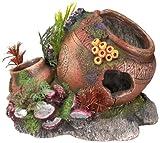 """Nobby 28068 Aquarium Dekoration Aqua Ornaments """"KRUG MIT MUSCHEL"""" mit"""
