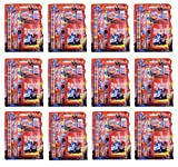 #8: Asera Red Disney Cars Gift Pack for Kids Set of 12