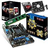 Aufrüstkit MSI A88XM+AMD A6-5400K+4GB Desktop-PC (AMD A Series A6-5400K, 4GB RAM, AMD APU Radeon...
