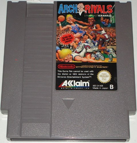 Arch Rivals (Nintendo NES) lose