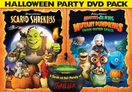 Scared Shrekless & Monsters Vs Pumpkins Halloween [Import USA Zone 1]