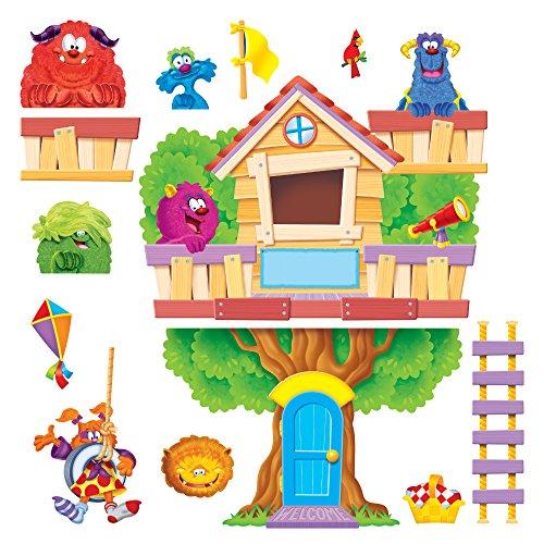 Furry Friends Clubhouse, Multi, Sold as 1 Set, 30 Each per Set (Klassenzimmer Bulletin Boards)