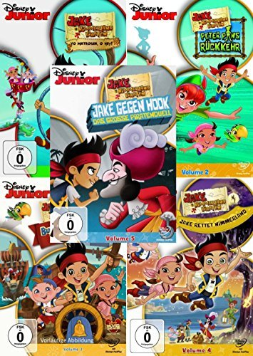Jake und die Nimmerland Piraten: Volume 1 - 5 Collection ()