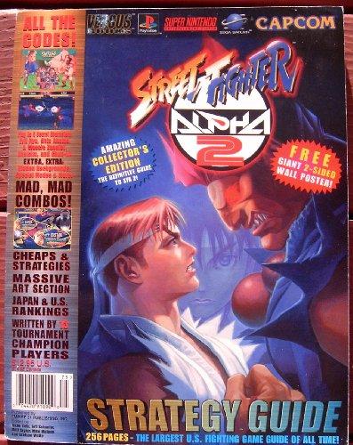 Street Fighter Alpha 2 Strategy Guide Versus Books Perfect Guide - Offizielles Lösungsbuch Englisch