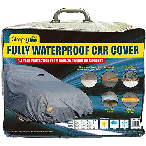 Simply Einfach pwcc4vollständig wasserdicht Car Cover, XL (Viz Air)