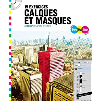 Step By Step 15 exercices calques et masques : Atelier n°1 d'Antoine Defarges