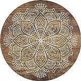 Cuadros Lifestyle 2d-Objeto de pared madera | Mandala | caracteres | Floral |-Plato...