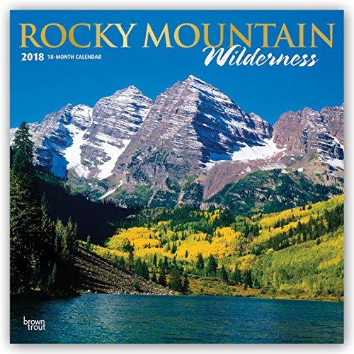 Descargar Libro Rocky Mountain Wilderness - Rocky Mountains 2018 - 18-Monatskalender mit freier TravelDays-App: Original BrownTrout-Kalender de Browntrout Publishers