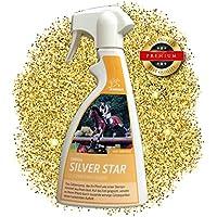 EMMA Spray de Brillo para Caballos Spray de Cola y Crin con Brillo Plata I Spray de Crin en Plata I Cuidado del Caballo I Abrigo Brillo I Spray de Pelo I 500 ML