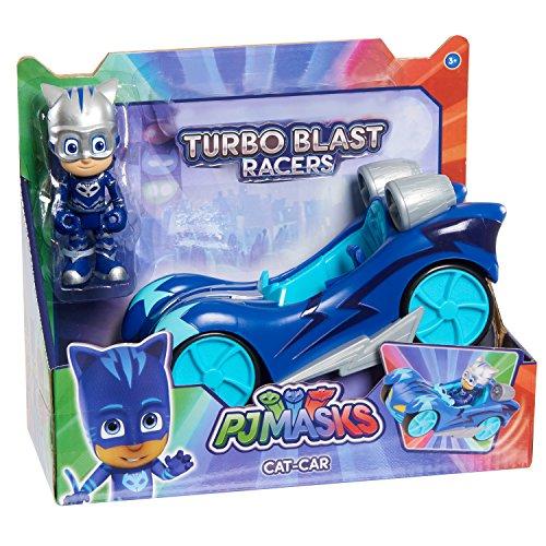 PJ Masks Vehículo Turbo - Gatuno (Bandai 24976)