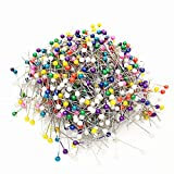 Kcopo Faux Perle Näherei Korsage Pins Stecknadeln für Nähte Farbe