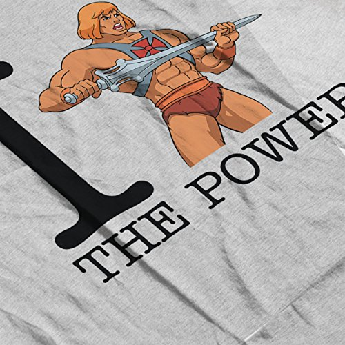 I Love The Power Masters Of Universe Men's Vest Heather Grey