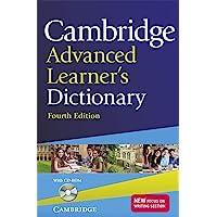 Cambridge advanced learner's dictionary. Con CD-ROM: Fourth Edition