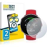 BROTECT 2x Schermbeschermer compatibel met Polar Vantage M Screen protector transparant