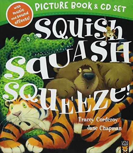 Squish Squash Squeeze Book & CD