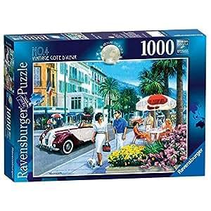 Ravensburger Around the World No. 4 - Cote D'azur, 1000pc Jigsaw Puzzle