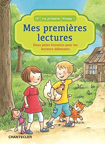 Deux jolies histoires pour les lecteurs débutants, CP 1re primaire niveau 1 par
