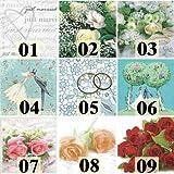 16 Servietten Auswahl möglich Hochzeitsmotive bride and groom - Braut und Bräutigam 33x33cm