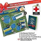 Therapie Geschenk-Set: 2 - Die Liga-Apotheke für Braunschweig-Fans | Für Fans von Eintracht Braunschweig Trikots, Home Away Stutzen Shorts Hoodie