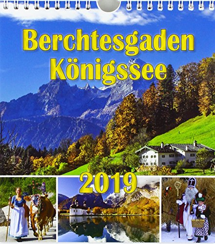 Berchtesgaden Königssee Postkartenkalender 2019 (Land Französisch Antiquitäten)