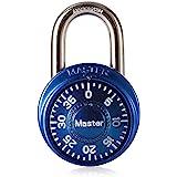 Master Lock 1533EURD vooraf ingesteld combinatie-hangslot, willekeurige kleur, 5,7 x 4 x 2,5 cm