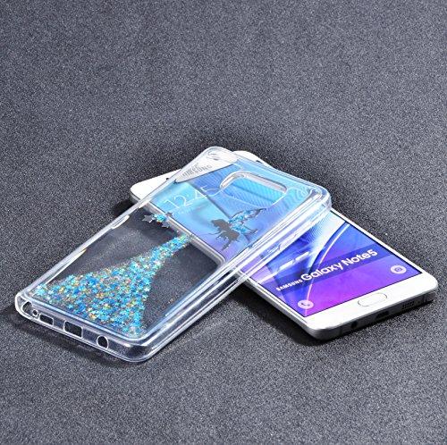 Vandot Etui Transparent Case pour Samsung Galaxy S7 Edge Coque de Protection en TPU Gel Invisible avec Absorption de Chocs Etui TPU Silicone Case Ultra Slim Thin Hull pour Samsung Galaxy S7 Edge Soupl Fée - Bleu
