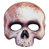 Máscara de Calavera sin mentón adulto Halloween