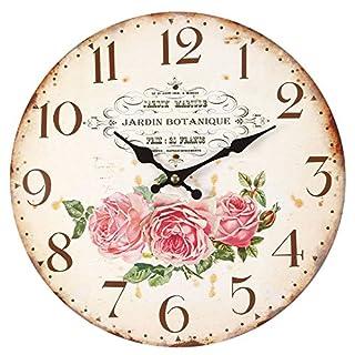 Ambiente Haus Rose Wall Clock 28 cm
