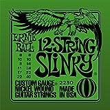 Ernie Ball Slinky 12-Saiter Nickel Wunde E-Gitarre Saiten - 8-40 Gauge