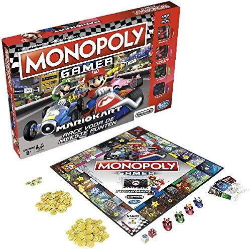 Hasbro Monopoly: Gamer Mario Kart - Juego Tablero