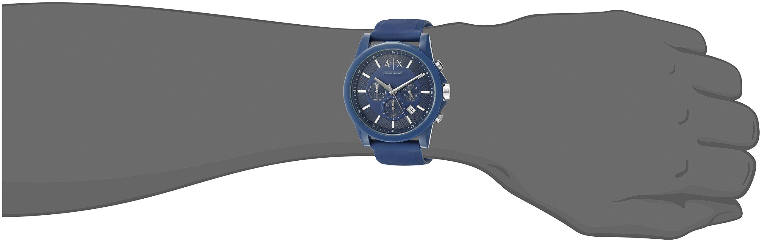 Armani Exchange Analog Blue Dial Unisex Watch – AX1327