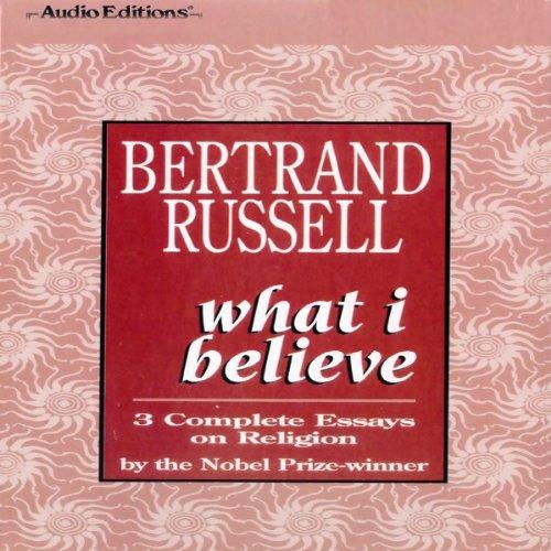 What I Believe  Audiolibri