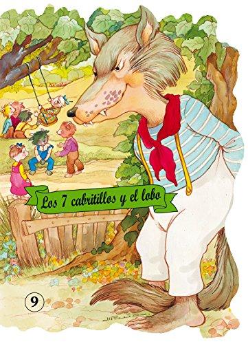 Los 7 cabritillos y el lobo (Troquelados clásicos) por Wilhelm i Jacob Grimm