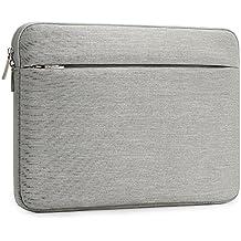 Funda Protectora Ordenador Portátil 15.6 Pulgadas Blanda Fieltro Bolsa Transporte Ultrabook Cubierta Piel para Notebook MacBook Pro