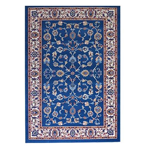 Webtappeti.it tappeto orientale tappeto classico persian 2079-azzurro parure (3 pezzi)