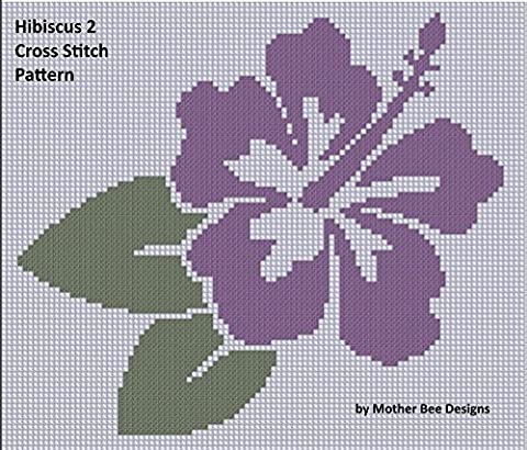 Hibiscus 2 Cross Stitch Pattern