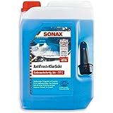 SONAX Antivries + helder zicht gebruiksklaar tot -20 °C (5 liter), sneller, streepvrije en effectieve ruitenreiniger voor de