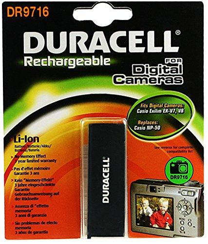 Duracell DR9716 Li-Ion Kamera Ersetzt Akku für NP-50 -